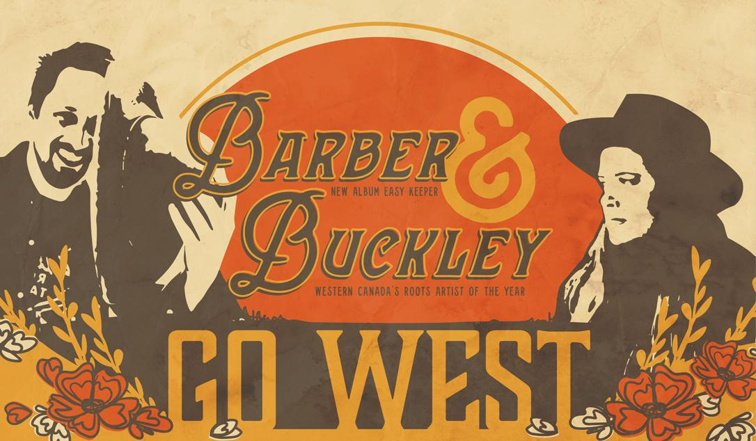 BARBER & BUCKLEY GO WEST