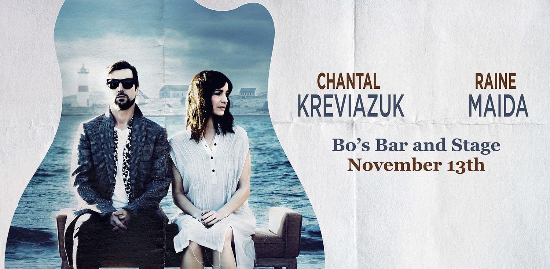 RAINE MAIDA & CHANTAL KREVIAZUK