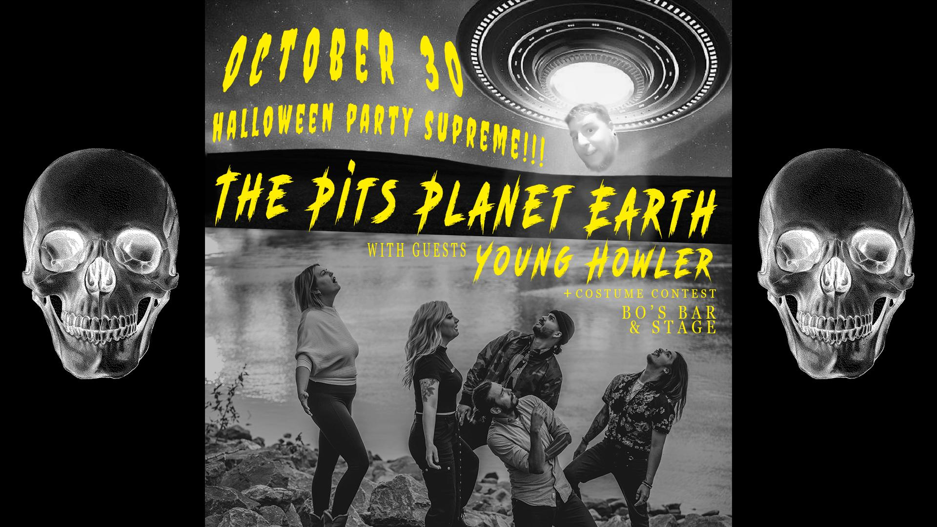 Halloween Supreme w/ The Pits Planet Earth & Young Howler